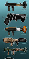 TF2 Rocket launchers