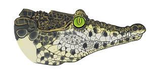Cuban Crocodile by MechanicalFirefly
