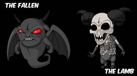 Binding of Isaac: The Fallen and The Lamb
