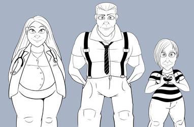 Outfits by MechanicalFirefly