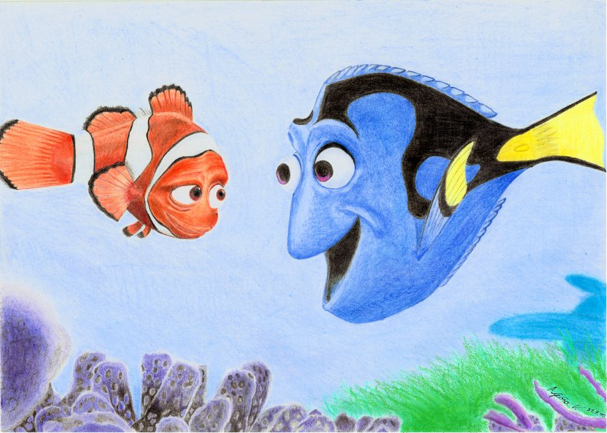 Back > Gallery For > Dory Finding Nemo Drawing