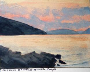 Twilight Seascape Study by agapetos