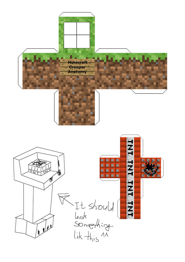 This is a graphic of Genius Minecraft Printables Papercraft