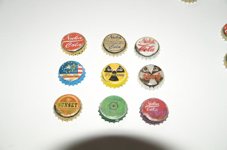 fallout 4 how to use bottle caps