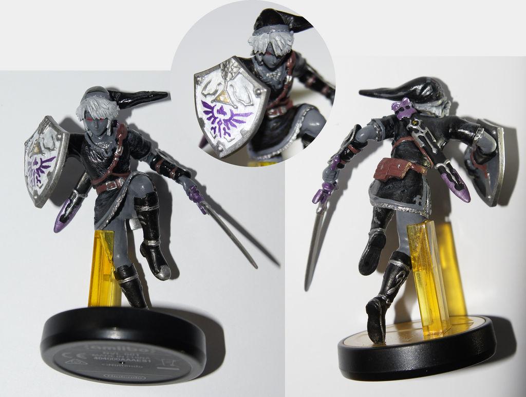 Custom Dark Link Amiibo By Dornogol On Deviantart