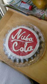 Nuka Cola Bottlecap Cake