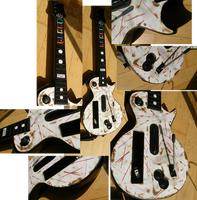 Guitar Hero RZK Burnt Controller