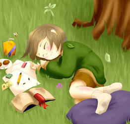 Sleepy Writer