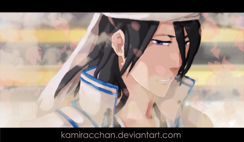 Bleach 570 - Kuchiki Byakuya by KamiraCChan