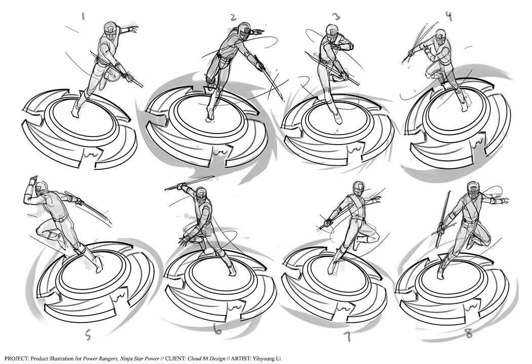 Coloring Pages Of Power Rangers Ninja Steel Printable Doa