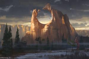 mountain by YihyoungLi