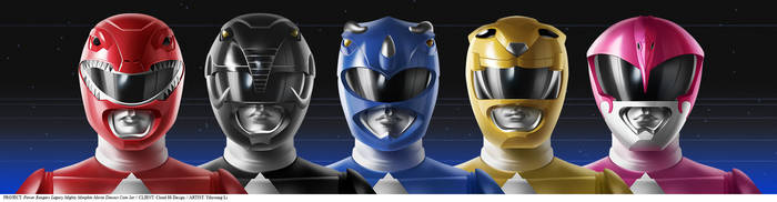 Power Rangers Legacy Diecast Coin Set by YihyoungLi
