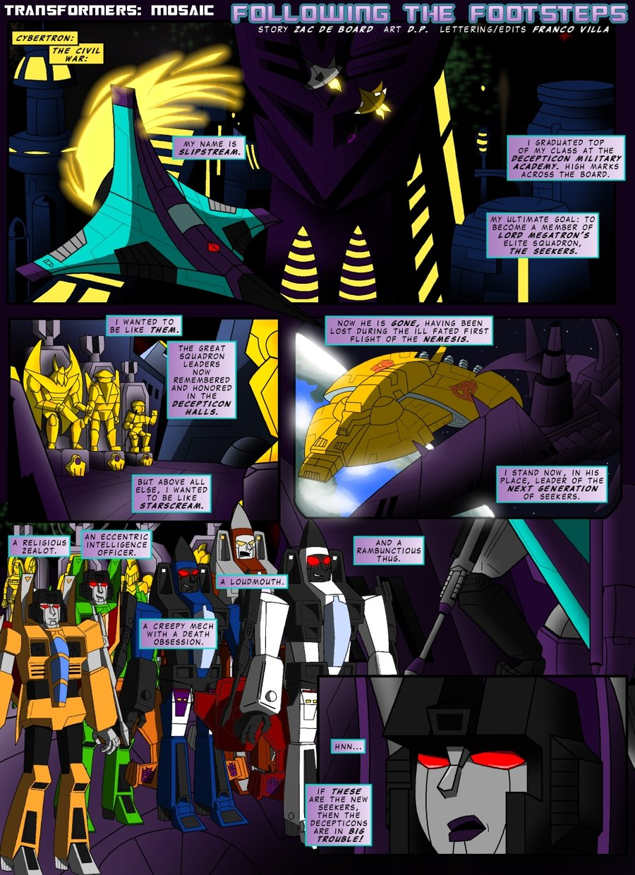 TF: Following The Footsteps