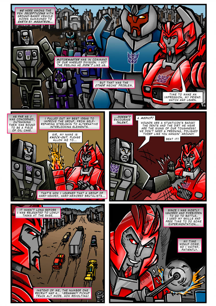Transformers: Extreme Mechover Page 01