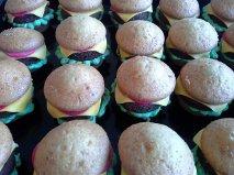 Hamburger Cupcakes by CreativeBFF