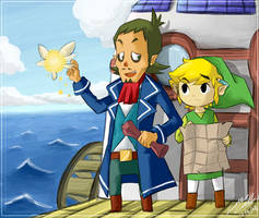 sailing by SewYouPlushieThings