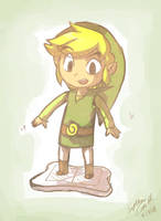 link fails at wii fit by SewYouPlushieThings