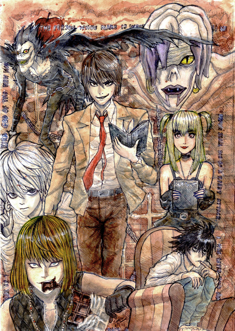 Death Note by lazyperson202