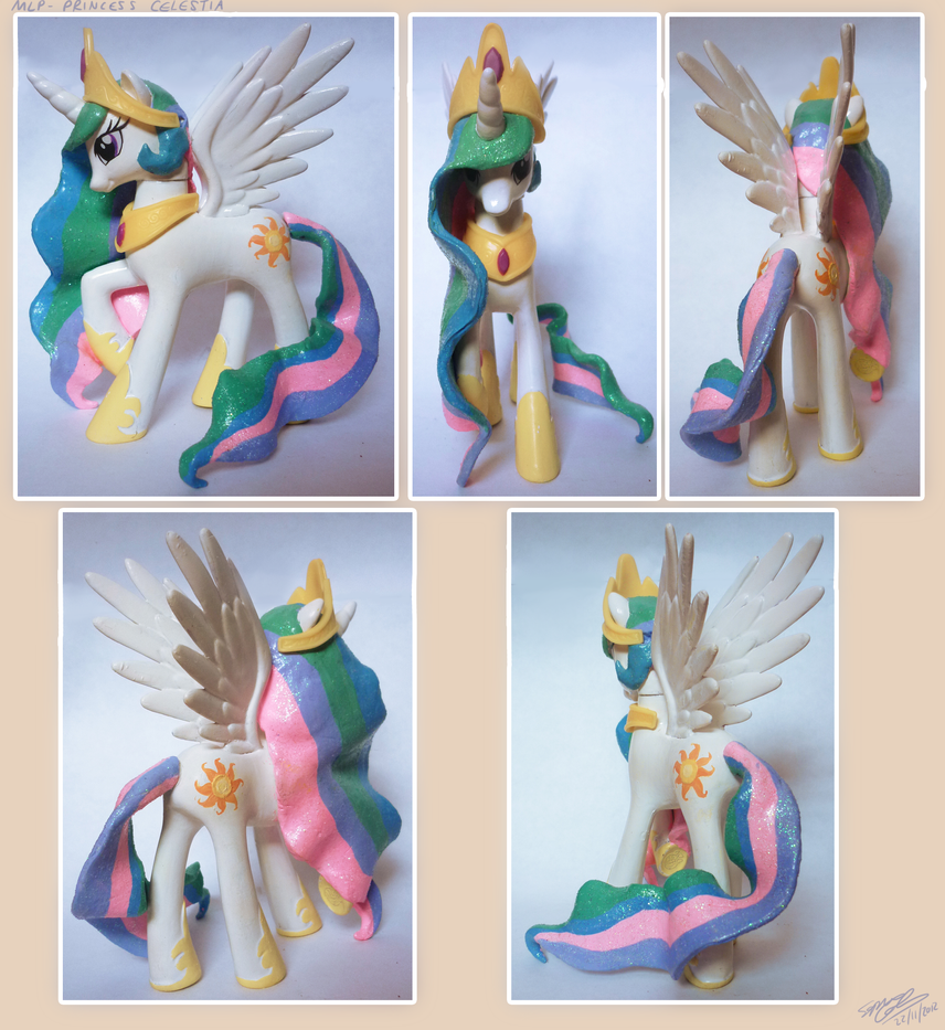 Princess Celestia custom by lazyperson202