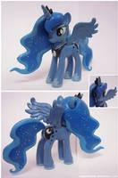 Princess Luna custom *more pics in description* by SewYouPlushieThings