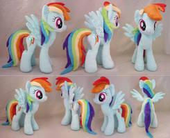 Rainbow Dash Plush by SewYouPlushieThings