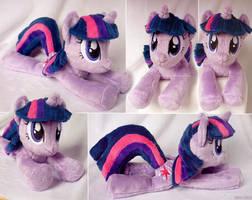 Twilight Sparkle Beanie by SewYouPlushieThings