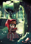Little Red Riding Pony