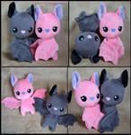 Bat Couple Plushies - Free Pattern