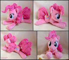 Pinkie Pie Beanie Plush by SewYouPlushieThings