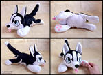 Husky Puppy Plush