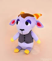 Animal Crossing - Kidd Plushie by SewYouPlushieThings