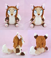 Naomi Plush by SewYouPlushieThings