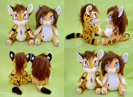 <b>Pommy And Goddess OC Plushies</b><br><i>SophiesPlushies</i>