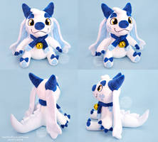 Ghostie Plush [OC] by SewYouPlushieThings