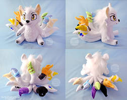 <b>Ten Tailed Wolf OC Plush</b><br><i>SophiesPlushies</i>