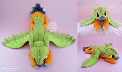 Xoli Birdfury Plush by SewYouPlushieThings
