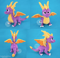 Spyro The Dragon - Reignited Plush by SewYouPlushieThings