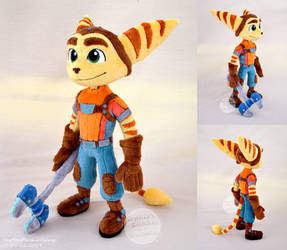 Ratchet plush by SewYouPlushieThings