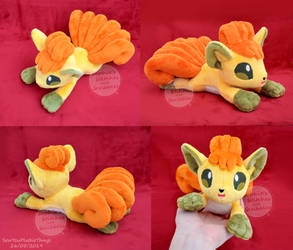 Shiny Vulpix Beanie Plush