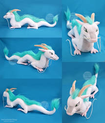 Large Haku Dragon Plush