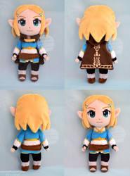 BotW 2 Princess Zelda plush