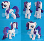Rarity Posed Plush