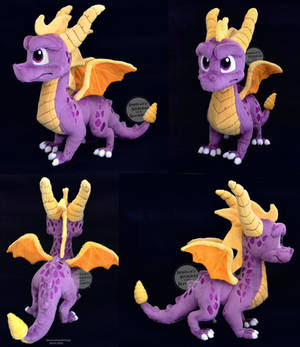 Spyro The Dragon Large Plush