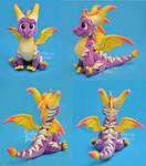 Superflame Spyro Plush