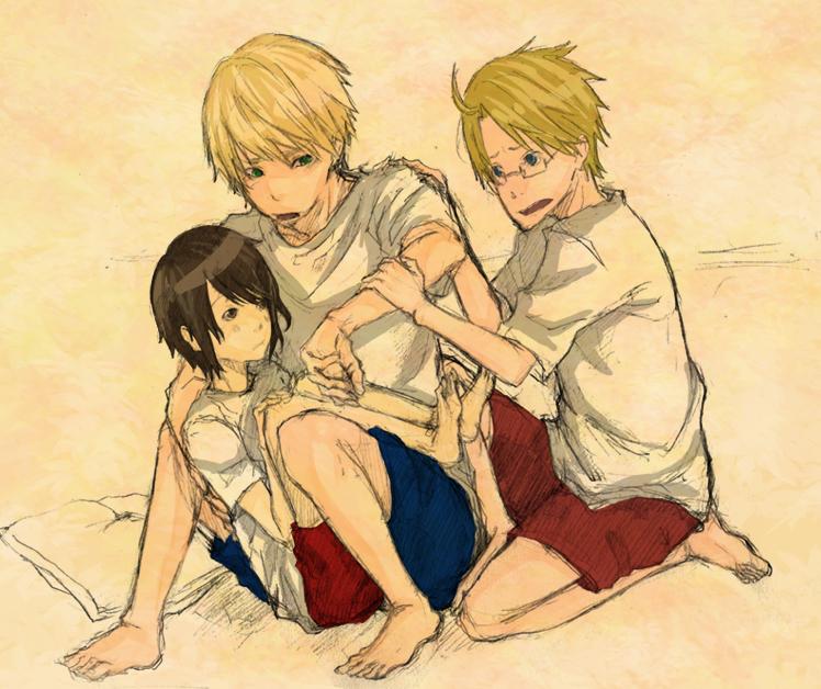 APH: The Kirkland Family. NOT. by yamino-kun