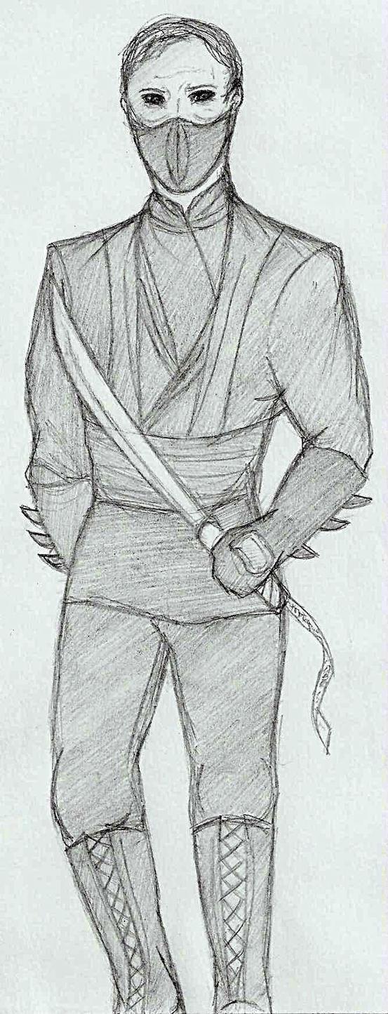 Batman Begins Rau0026#39;s Al Ghul Sketch By NOTEBLUE13 On DeviantArt