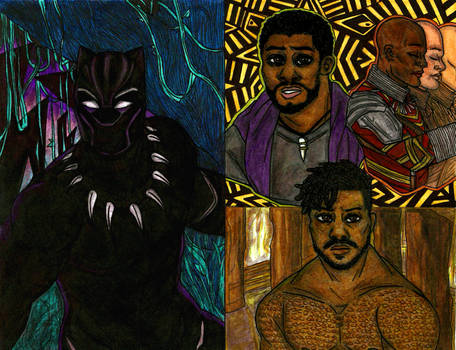 Black Panther Sketches