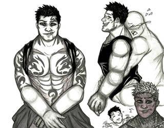 Priapus Sketches