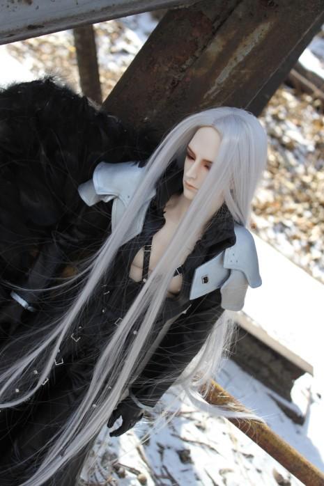BJD Sephiroth cosplay by bikacy