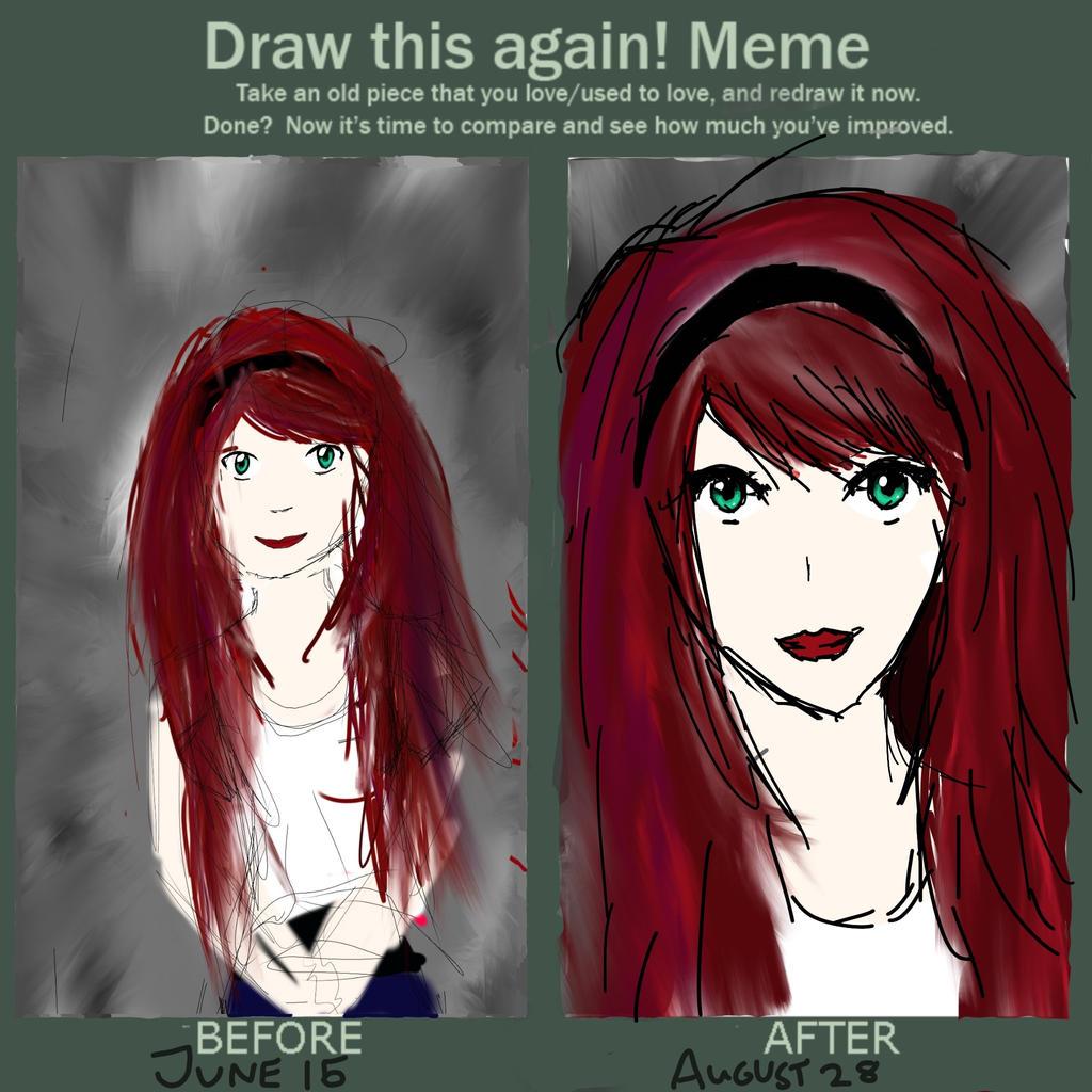 tumblr/scene girl with red hair tumblr